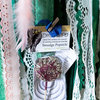 Crochet Dreamcatcher with Green Aventurine Gemstone – 30cm Hoop by Venus and the Hare