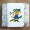 ​Crocodile captain greeting card by Terrapin and Toad