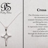 Prety Silver Cross by Pretty Silver Collection by Havilah Designer Jewellers