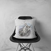 Lionfish Cushion Cover with colour back | Mamawati Marine Life by LindnrCo