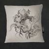 Illustrated Botanical Cushion Covers | Flora White Botanicals by LindnrCo