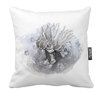 Sea anemone Cushion Cover with colour back | Mamawati Marine Life by LindnrCo