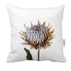 King Protea Cushion Cover | Flora White Photo-Botanicals by LindnrCo