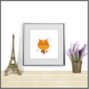 Cute Animals Set of 3 Prints/Posters/Wall Art by The Art of Creativity Studio