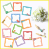 12 Cute Dino Notes, Tags, Labels or Stickers by The Art of Creativity Studio