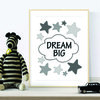 MONOCHROME DREAM BIG DIGITAL WALL ART by hcmorrison printables