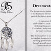 Pretty Silver Dream Catcher by Havilah Designer Jewellers