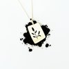 Fynbos Square Necklace by HALLO JANE