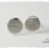Sterling Silver Table Mountain Cufflinks by Natasha Wood Jewellery