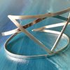 HANDCRAFTED STERLING SILVER  BRACELET   by Ri Jewellery