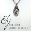 3D Anatomic Heart Necklace by Eon Hoon Jewellery Design