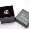 Sterling Silver Skull Ring by Eon Hoon Jewellery Design