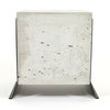 Brut Side Table - Black Legs by Leg Studios