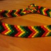 Chevron friendship bracelet by Frenesi