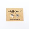 Tree Of Life Studs - Sterling Silver by HALLO JANE