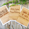 Born To Be Wild - Bamboo Gift Card by HALLO JANE