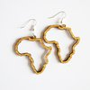 Bamboo Earrings - Africa Silhouette by HALLO JANE