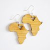 Bamboo Earrings - Solid Africa by HALLO JANE