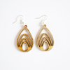 Bamboo Earrings - Multi Tear by HALLO JANE