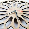 Simplistic Bamboo Wall Clock by HALLO JANE
