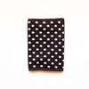Black & White Spot Print Passport Cover by cover me pretty