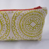 Boxy Pouch in Lime Puzzle by Sew & Such