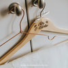 Custom Engraved Wooden Hanger by Papermoon