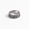 Organic ,Irregular patterns - Sterling Silver ring  / SALUT VIEILLE BRANCHE  by Morgane & The Queen