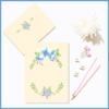 Customisable Floral Watercolour Invite/Note and Envelope (Option 3) by The Art of Creativity Studio