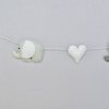 Elephant and heart garland by Wishfull Thinking