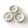 Clay seals, stick-on, pack of 4 by Whimsy-Lou vintage papercrafts