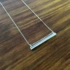 Silver Bar Necklace by a ring to it