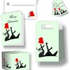 Christmas Hound Stationery Set by Marran Art & Photography