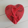 Heart Coaster Red Rose   by made-with-love