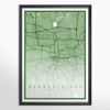 Map Poster (Special occasion gift) - Digital Download by Fifth House