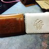 Ciao Blonde Slim Wallet ~ Natural Vegetable Tan by Savior Brand Co