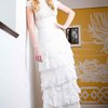 vintage inspired Guipure lace Bridal Gown by Molteno Creations Bespoke Couture