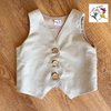 Formal Baby Waistcoat  by Wiggle Giggle Baby Clothing