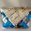 Upcycled Chip Wrapper Magnetic Snap Purse by ZuluGal Retro