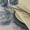 Disposable  paper placemats: AGAPANTHUS (25 In Pack) by TableArt