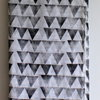 Pyramid hand block printed Indian cotton scarf/shawl by Kerry Cherry Designs and Prints