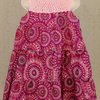 Soft pink floral summer dress for girls Age 4 - 5 by JaxStar Handmade Clothing and Home