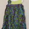 African print peacock design summer dress by JaxStar Handmade Clothing and Home