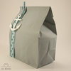 Gift Bag (Grey with Anchor) by LOVE WRAPPED