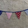 Stars and stripes bunting by Going Dutch In Sa