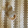 Cot Baby Blanket by Love Wool