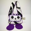 Stuffz Bunny Purple Tie Die by bisa boo