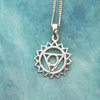 Throat Chakra Necklace, Spiritual Jewellery, Gifts for her, Sterling Silver, Chakra Jewellery by Swish Jewellery Studio