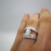 Shimmer & Shine Silver Ring by Carat Jewellers