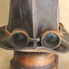 Leather Top Hat by Shackletons